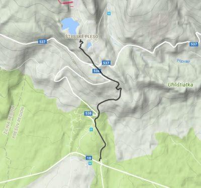 mapa trate